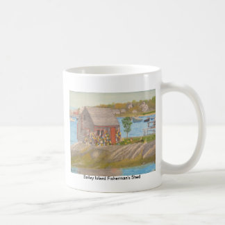 Baileys Island Fisherman's Shed Coffee Mugs
