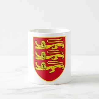 Bailía de la heráldica oficial del escudo de armas tazas de café