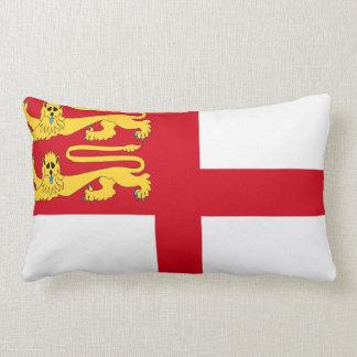 Bailiwick Guernsey region sark island flag symbol Pillow