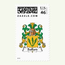 Baillard Family Crest Stamps