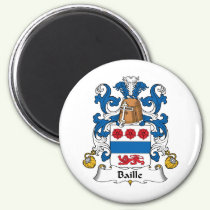 Baille Family Crest Magnet