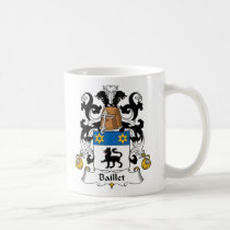 Baillet Family Crest Mug