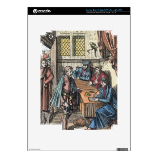 Bailliage, o tribunal de Bailiff del rey, afte iPad 3 Skin