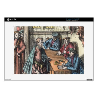 Bailliage, or Tribunal of the King's Bailiff, afte Decal For Laptop