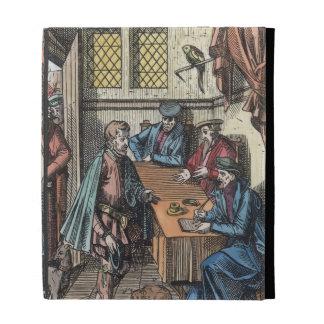 Bailliage, or Tribunal of the King's Bailiff, afte iPad Folio Cover