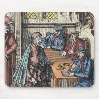 Bailliage, or Tribunal of the King's Bailiff, afte Mouse Pad
