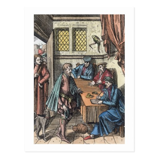 Bailliage, or Tribunal of the King's Bailiff, afte Post Cards