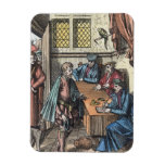 Bailliage, or Tribunal of the King's Bailiff, afte Vinyl Magnet