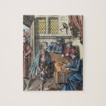 Bailliage, or Tribunal of the King's Bailiff, afte Jigsaw Puzzles