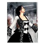 Bailo arte solo del romance gótico postales