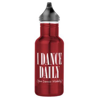 Bailo diariamente (usted baila débil)