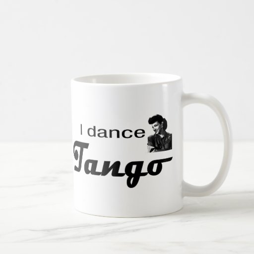 ¡Bailo diseño del tango! Taza