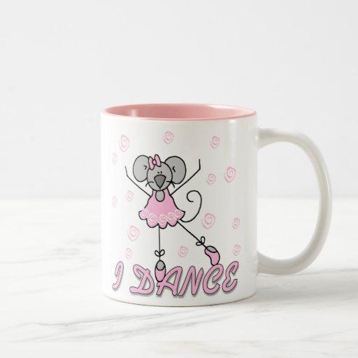 Bailo la taza del ballet del ratón