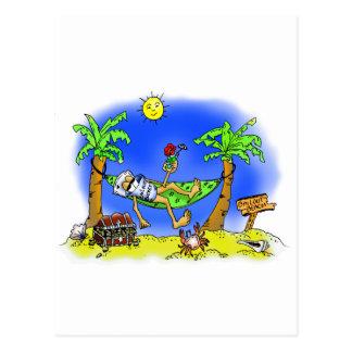 Bailout Beach Postcard