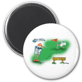 Bailout Open - Golf 2 Inch Round Magnet