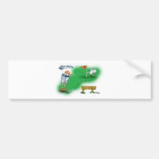 Bailout Open - Golf Bumper Sticker