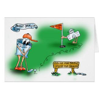 Bailout Open - Golf Card