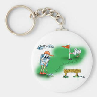 Bailout Open - Golf Keychain