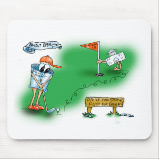 Bailout Open - Golf Mouse Pad