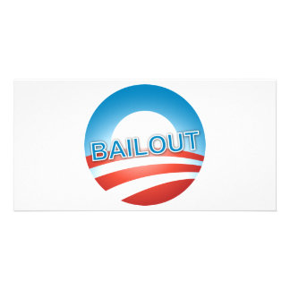 Bailout Personalized Photo Card