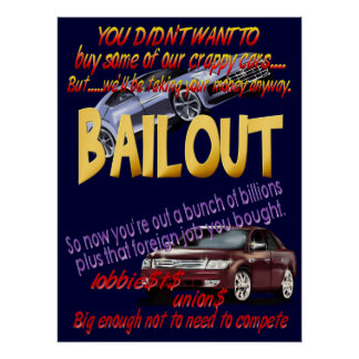 BAILOUT Poster
