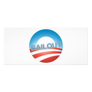 Bailout Customized Rack Card