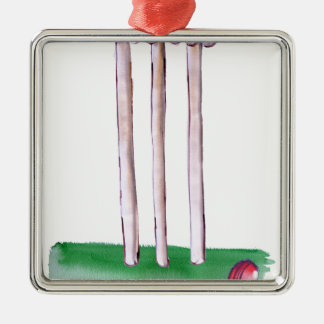 BAILS cricket, tony fernandes Metal Ornament