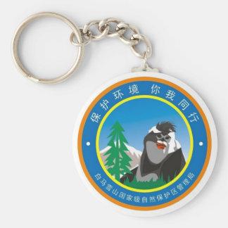 Baima Snow Mountain - Keychain