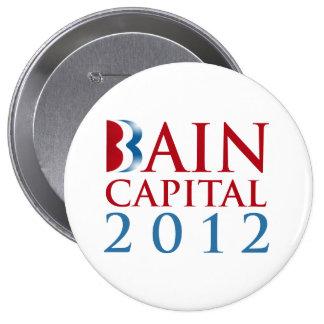 BAIN CAPITAL 2012 PINBACK BUTTON