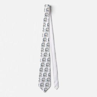 Bain Clan Badge Tie