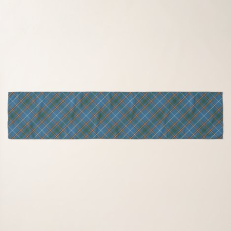 Bain Clan Scottish Tartan Plaid Pattern Scarf