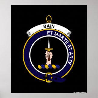 Bain - escudo del clan impresiones