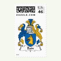 Bain Family Crest Stamps