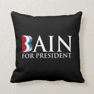 BAIN FOR PRESIDENT.png Pillow