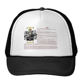 Bain (inglés (significado) gorra