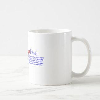 Bain-krupt (verb) mug