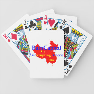 Bain-krupting America Bicycle Playing Cards