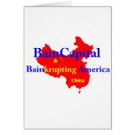 Bain-krupting América Tarjeta