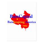 Bain-krupting América Tarjeta Postal