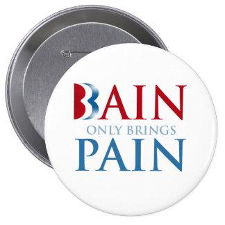 BAIN TRAE SOLAMENTE PAIN.png Pin Redondo De 4 Pulgadas