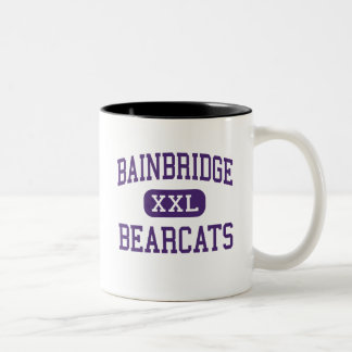 Bainbridge - Bearcats - High - Bainbridge Georgia Two-Tone Coffee Mug