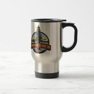 Bainbridge Island Circle Patch commuter mug