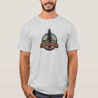 Bainbridge Island Circle Patch T-Shirt