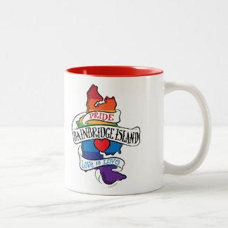 Bainbridge Island LGBT Pride Mug