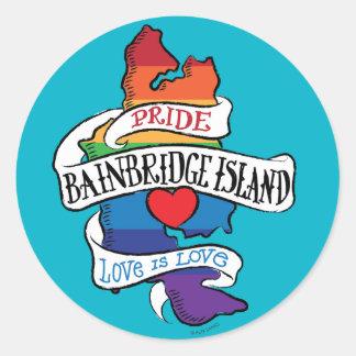 Bainbridge Island LGBT Pride Stickers