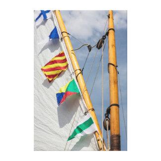 Bainbridge Island Wooden Boat Festival 3 Canvas Print