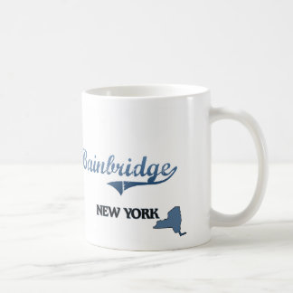 Bainbridge New York City Classic Classic White Coffee Mug