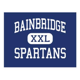 Bainbridge - Spartans - altos - isla de Bainbridge Tarjeta Postal