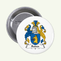 Baines Family Crest Button