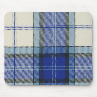 Baird Dress Blue Tartan Plaid Mousepad